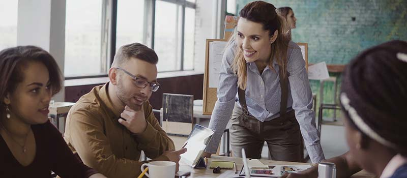 Millennials –Collaborative working & collaboration in the workplace