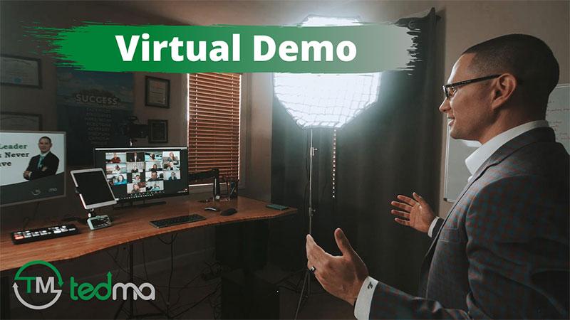 Keynote Speaker Ted Ma's Virtual Programs