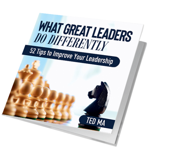 What Great Leaders Do Differently: 52 Tips to Improve Your Leadership